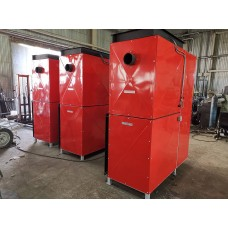 Автоматические теплогенераторы вертикальные, наружнего размещения (50 - 600 кВт) котловая сталь